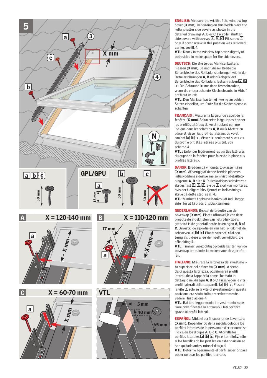 Volet Roulant Velux Notice